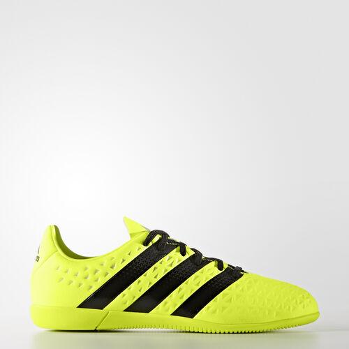 adidas - ACE 16.3 Indoor Shoes Solar Yellow  /  Black  /  Metallic Silver S31957