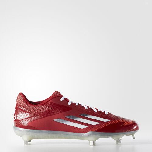 adidas - adizero Afterburner 2.0 Cleats Power Red  /  Tech Grey Metallic  /  Running White S84700