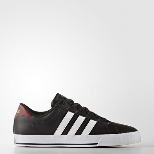 adidas - Daily Shoes Core Black  /  Running White  /  Matte Gold AW4571