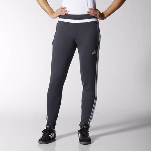 adidas - Tiro 15 Training Pants Grey  /  White  /  Dark Shale S30161