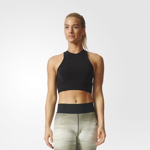 adidas - warp knit Crop Top Black BR5231