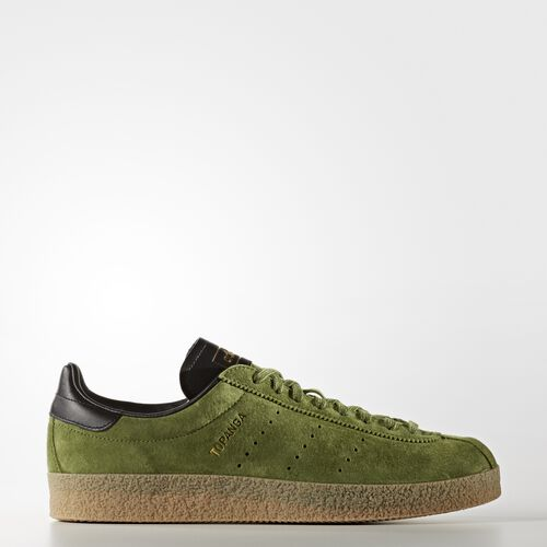 adidas - Topanga Clean Shoes Craft Green  /  Black S80070