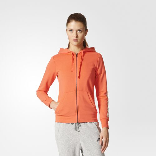 adidas - Essentials Linear Hoodie Easy Coral S97077