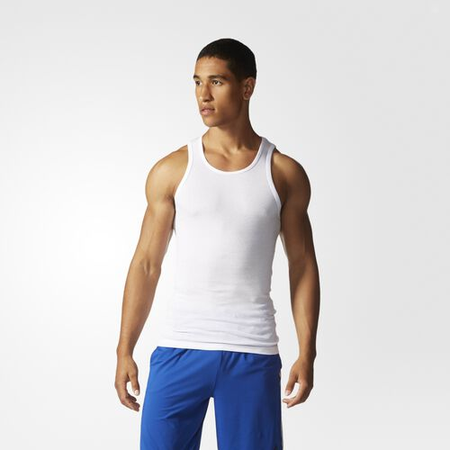 adidas - Athletic Comfort Ribbed Tank Top 3-Pack MULTCO S49199