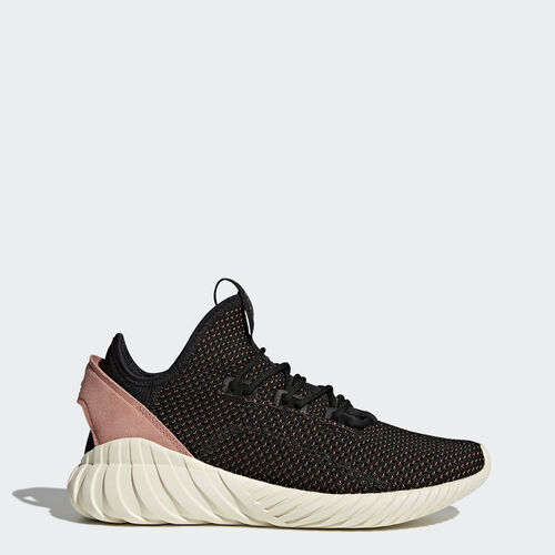 adidas - Tubular Doom Sock Primeknit Shoes Core Black  /  Core Black  /  Raw Pink BY9335