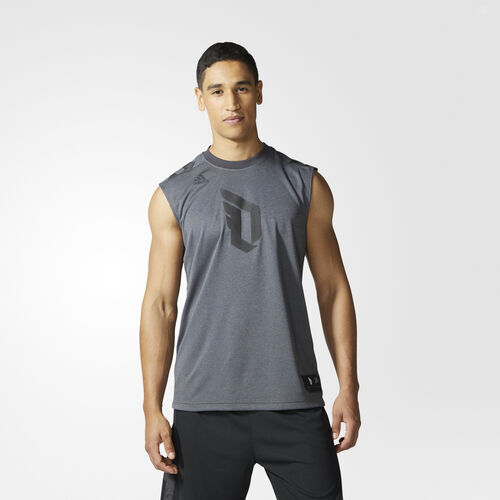 adidas - Dame Sleeveless Tee Utility Black CD6997