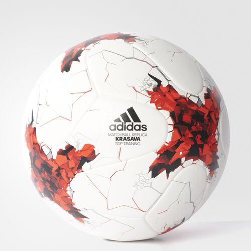 adidas - Confederations Cup Top Replique Soccer Ball White  /  Poppy  /  University Red AZ3201