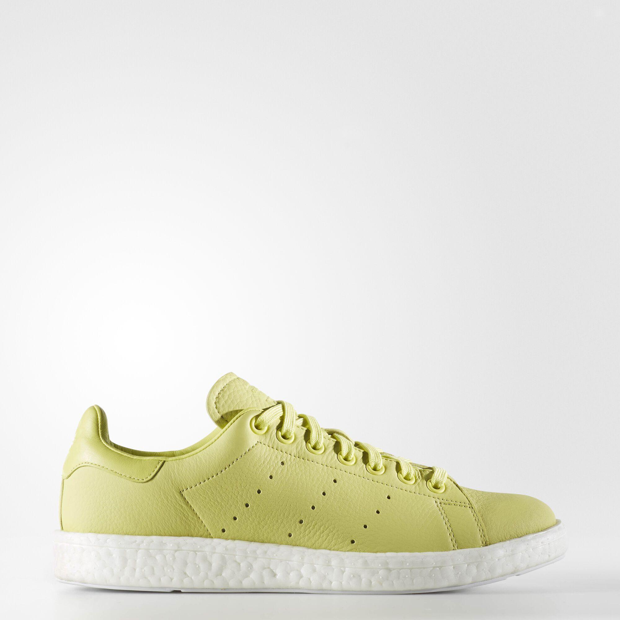 the latest b2389 da672 ... adidas stan smith boost shoes linen green ba7436 ...