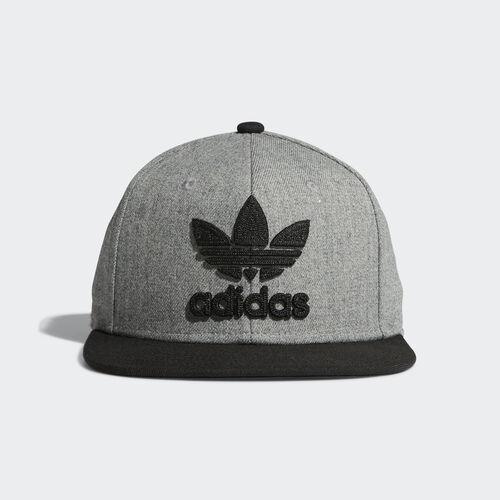 adidas - Chain Snap-Back Cap Medium Grey Heather B94085