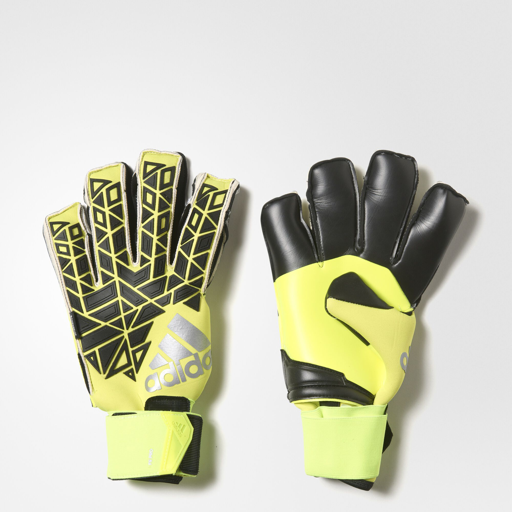 on sale 62e86 9d3bb ... adidas ace fingersave pro goalkeeper gloves solar yellow black semi  solar yellow ap6991 womens nike air max 95 red yellow mercadolivre ...