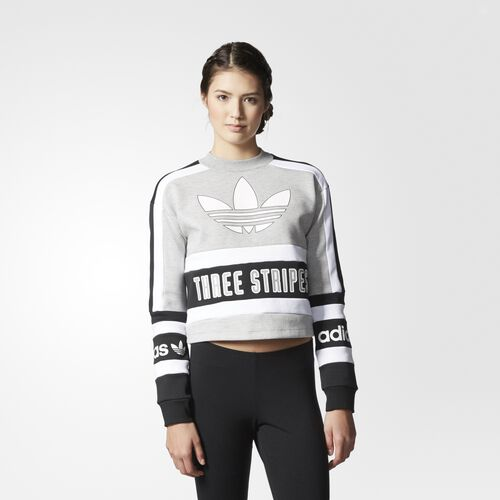 adidas - Sweatshirt Medium Grey Heather  /  Black AY8599