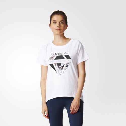 adidas - Reflective Tee White AY5800