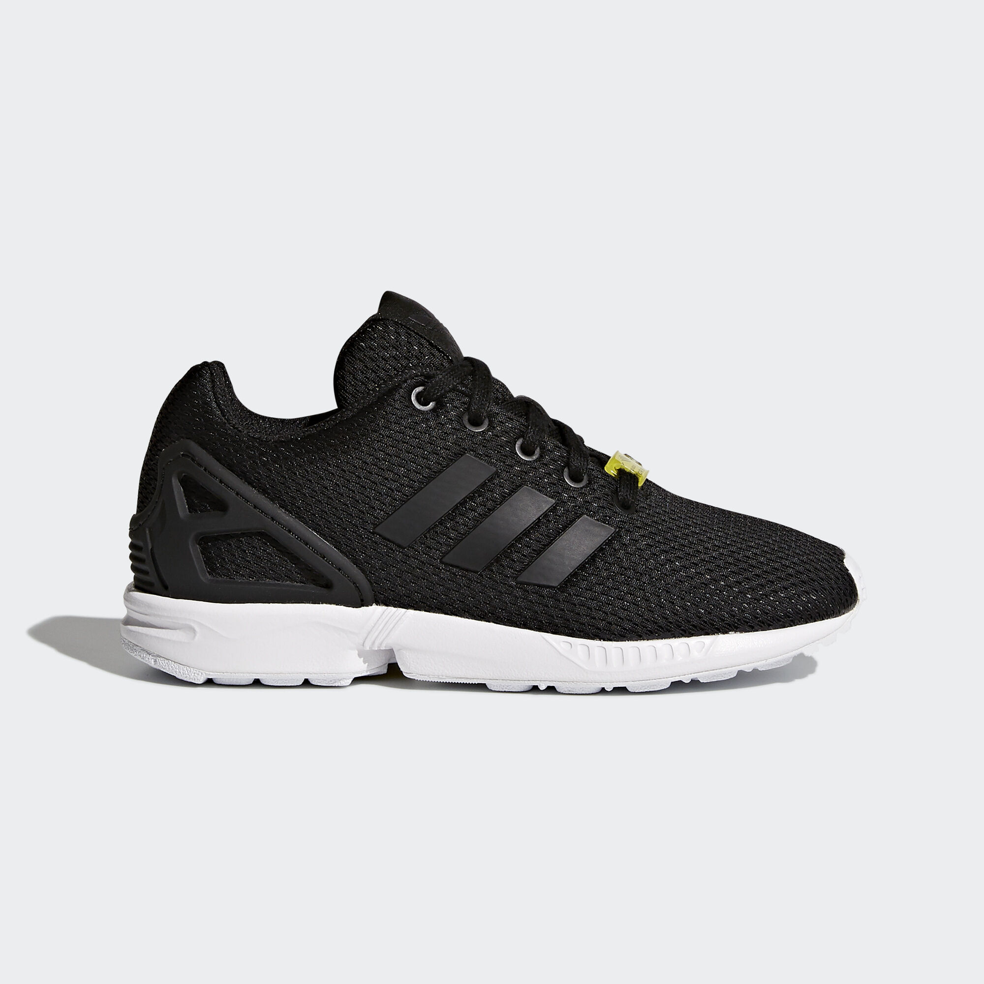 adidas originals zx flux all black trainers