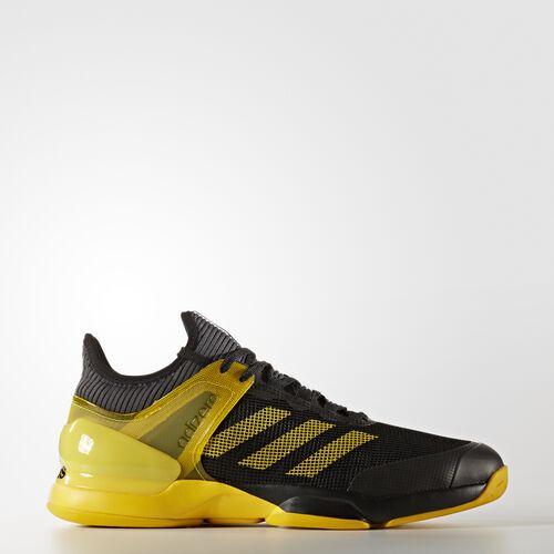 adidas - adizero Ubersonic 2.0 Shoes Core Black  /  Eqt Yellow CP9692