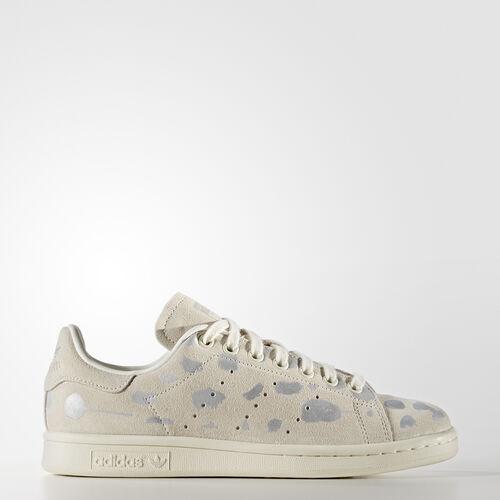 adidas - Stan Smith Shoes Off White  /  Off White  /  Silver Metallic S32264