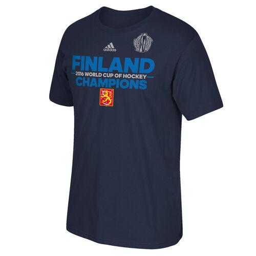 adidas - Team Finland Authentic Champions Tee MULTI BF5442