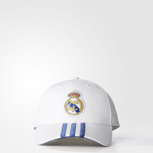 adidas - Real Madrid Home 3-Stripes Hat Crystal White  /  Raw Purple S94867