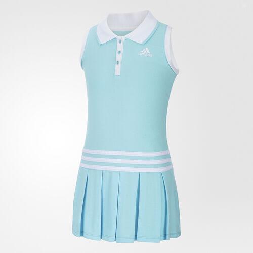 adidas - Twirl Polo Dress Light Aqua BI5391