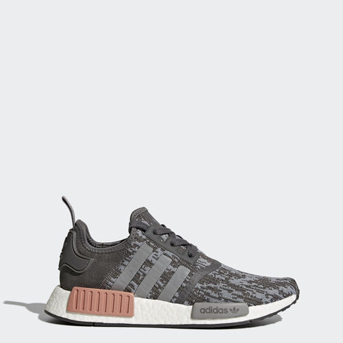 adidas - NMD_R1 Shoes Grey  /  Grey  /  Raw Pink BY9647