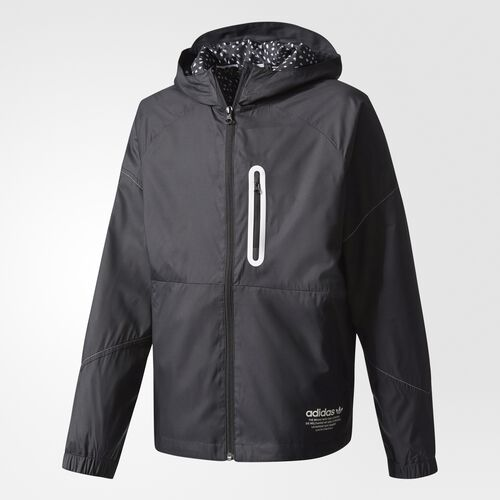 adidas - Windbreaker Black  /  White BQ8348