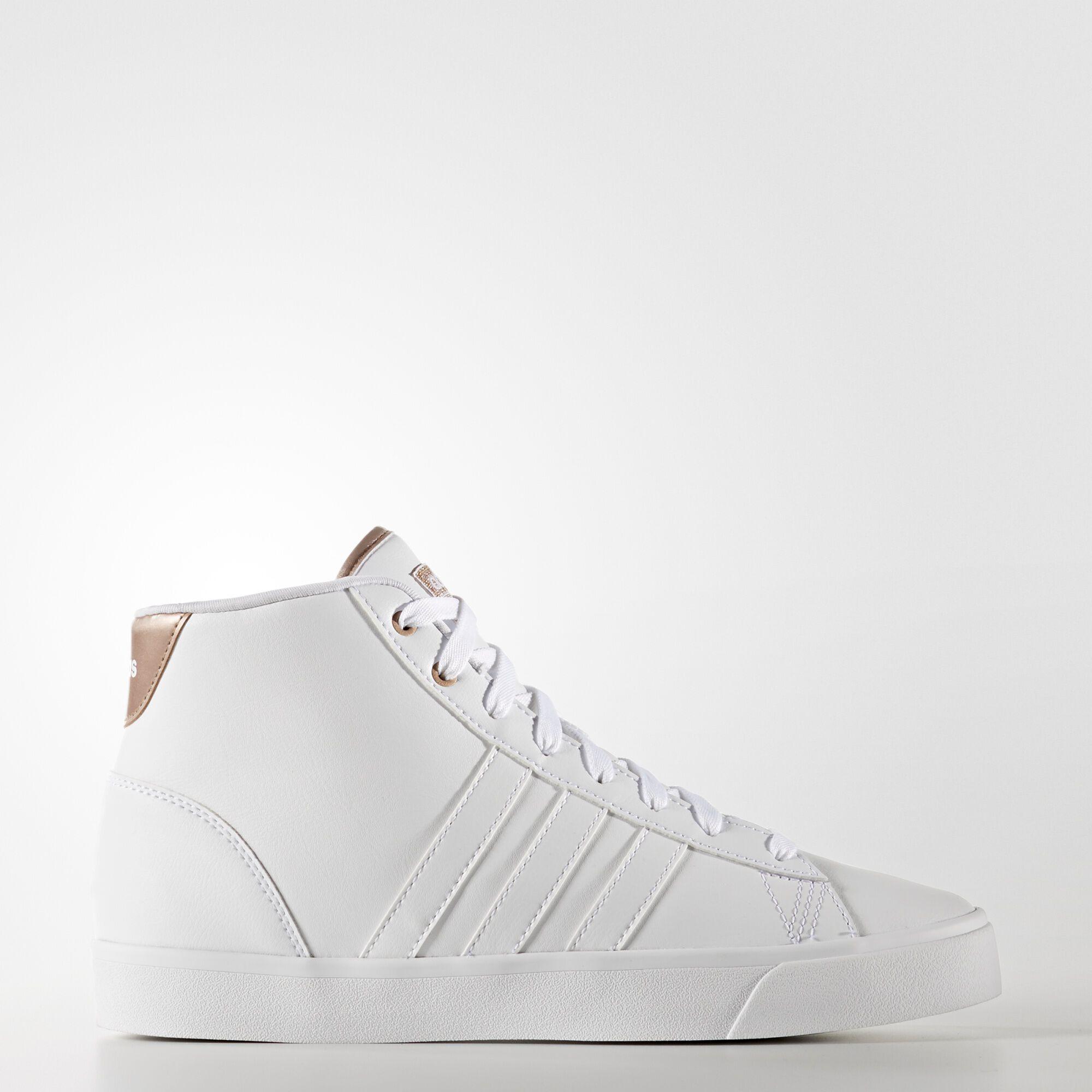 Adidas Cloudfoam Daily QT Mid Shoes - White