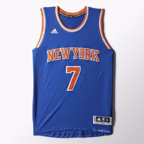 adidas - Knicks Road Swingman Jersey Blue H82823