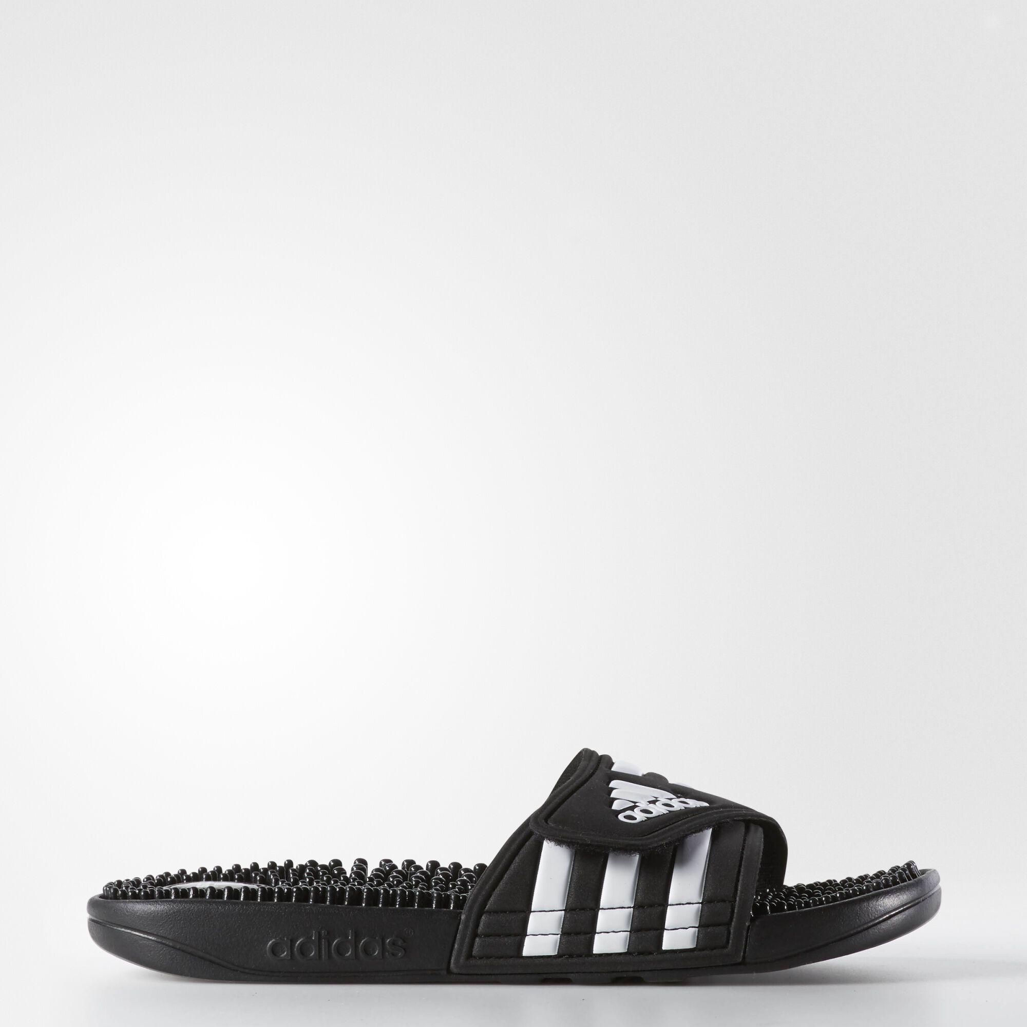 d39022217682 ... adidas - Adissage Slides Black   Black   Running White 087609 adidas  Women s ...