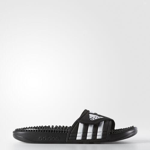 adidas - Adissage Slides Black  /  Black  /  Running White 087609