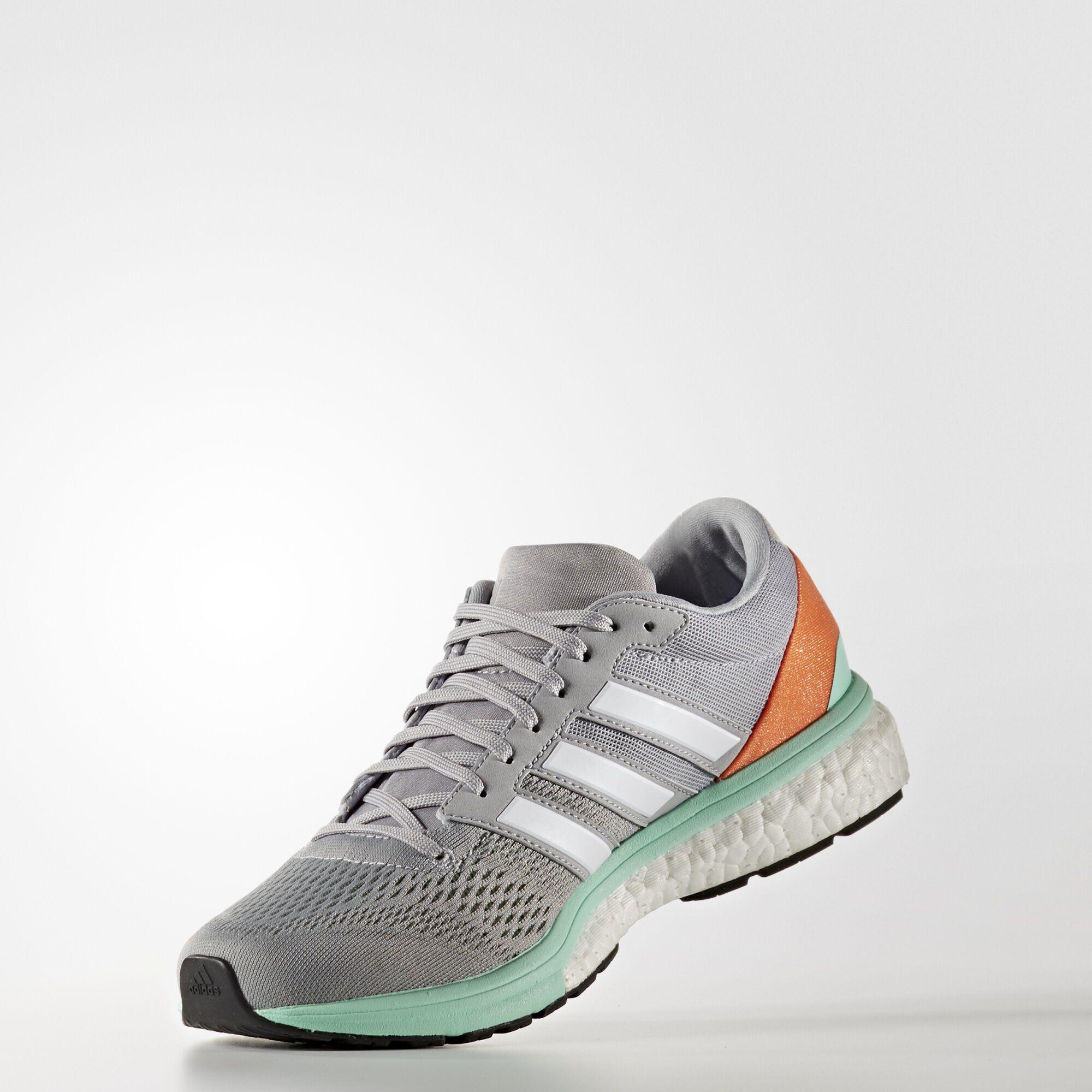 adidas - adizero boston 6 w Mid Grey / Running White BB1729