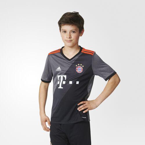 adidas - FC Bayern München Away Replica Jersey Granite  /  Solid Grey  /  Black AZ4661
