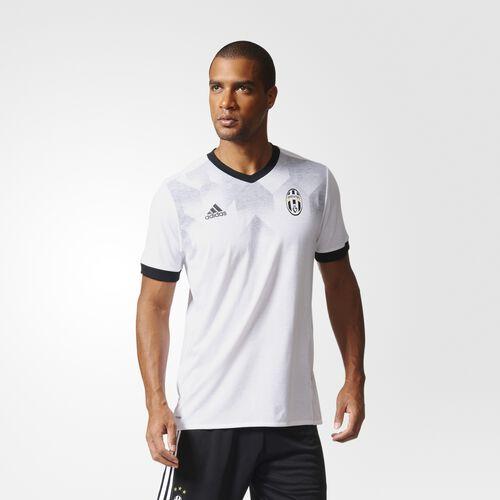 adidas - Juventus Home Pre-Match Jersey White  /  Black BP9188