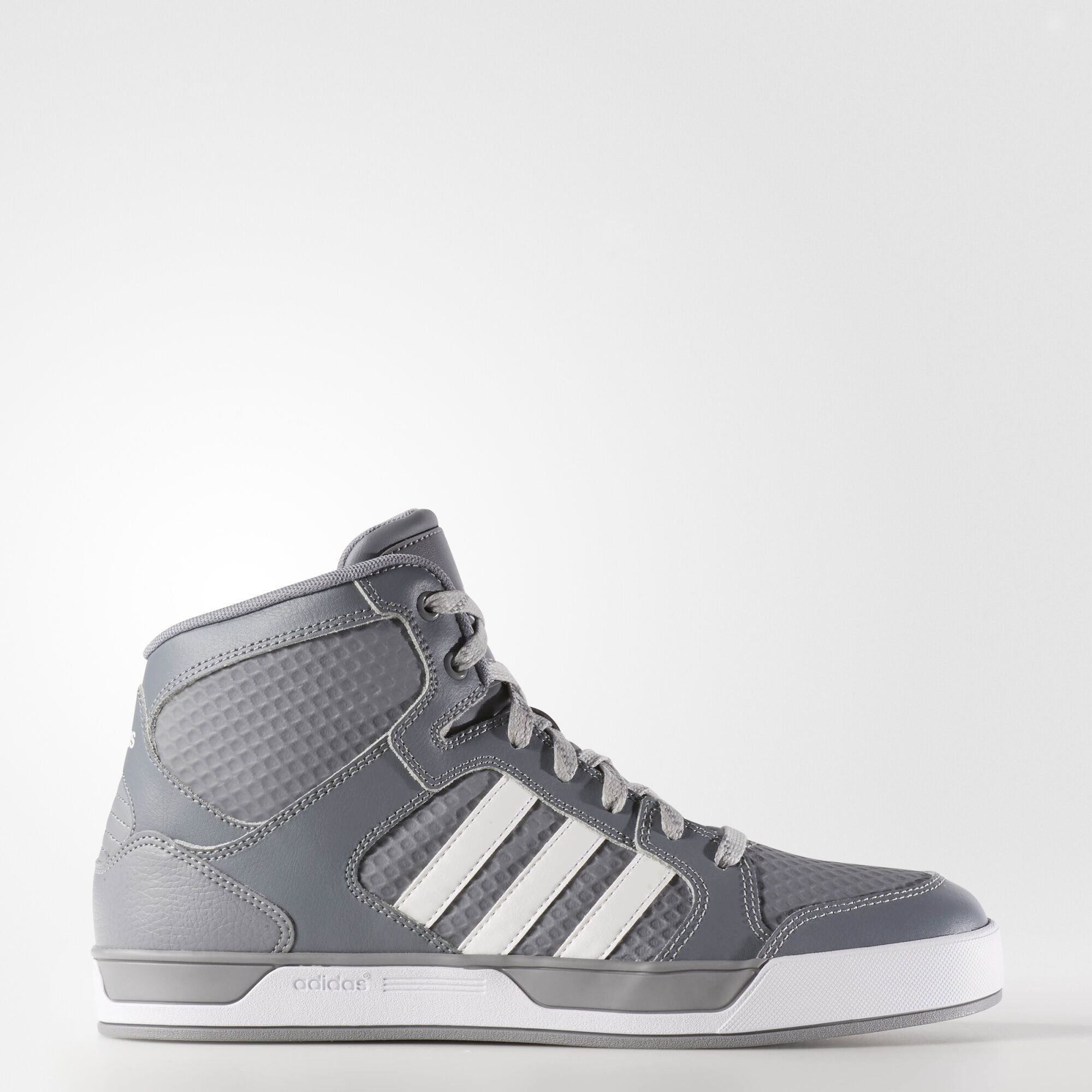 adidas neo high tops black and white losgranados