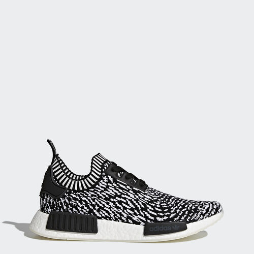 adidas - NMD_R1 Primeknit Shoes Core Black  /  Core Black  /  Running White BY3013