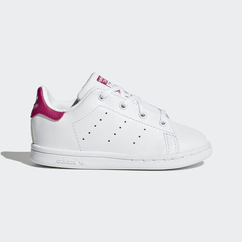 adidas - Stan Smith Shoes Running White Ftw  /  Running White  /  Pink Buzz BB2999