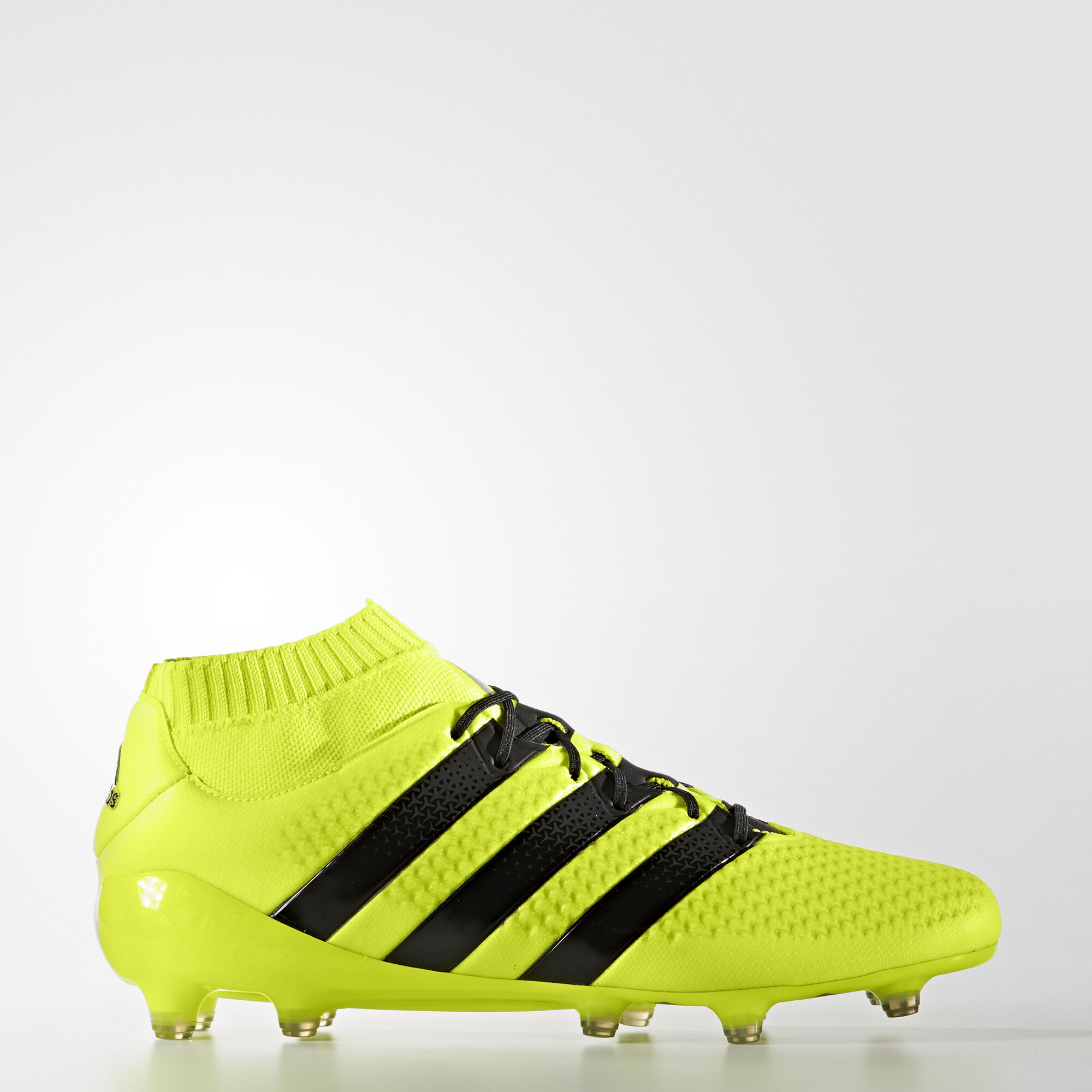 adidas ace 16 1 primeknit firm ground cleats yellow. Black Bedroom Furniture Sets. Home Design Ideas
