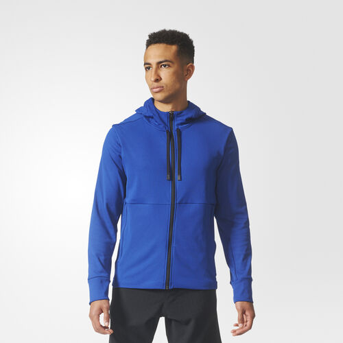 adidas - Climawarm Hooded Workout Jacket Mystery Ink CE3579