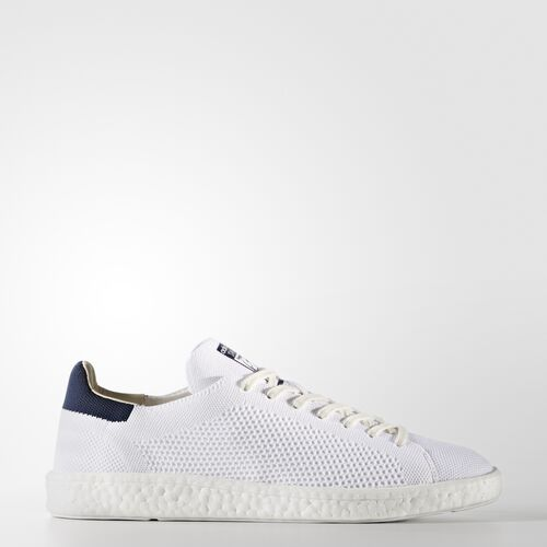 adidas - Stan Smith Boost Primeknit Shoes Running White Ftw  /  Running White Ftw  /  Collegiate Navy BB0012