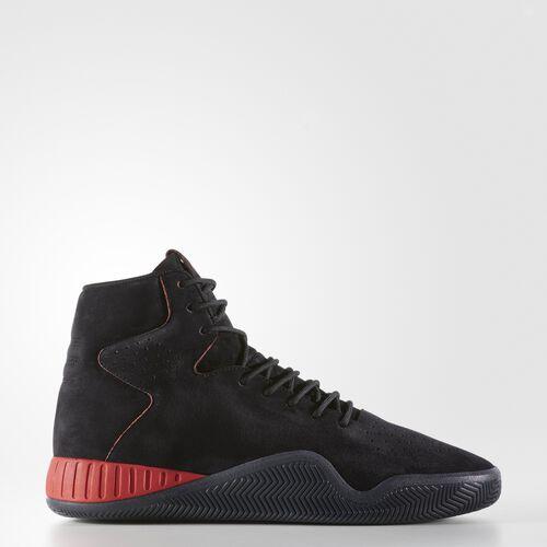 adidas - Tubular Instinct Shoes Core Black  /  Black  /  Light Scarlet BY3605