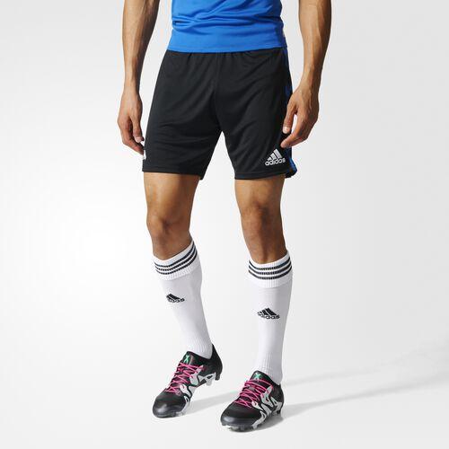 adidas - Tango Cage Shorts Black  /  Blue AZ9729