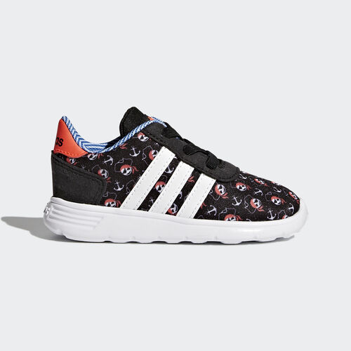 adidas - Lite Racer Shoes Core Black  /  Running White  /  Infrared CG5750