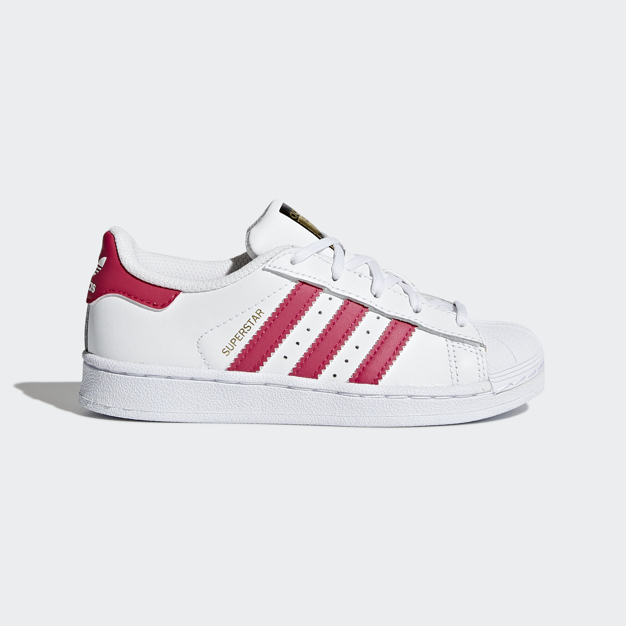 Adidas adidas Originals Superstar Foundation White & Red Sneakers