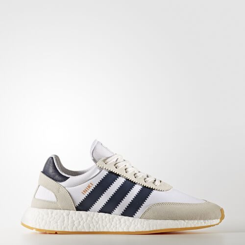 adidas - Iniki Runner Shoes Running White  /  Collegiate Navy BY9722