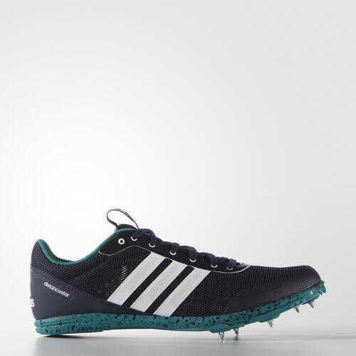 adidas - Distancestar Spikes Collegiate Navy  /  Running White AF5613