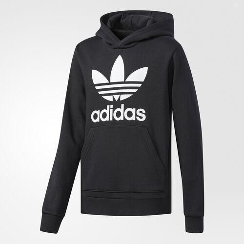 adidas - Trefoil Hoodie Black  /  White CW3314