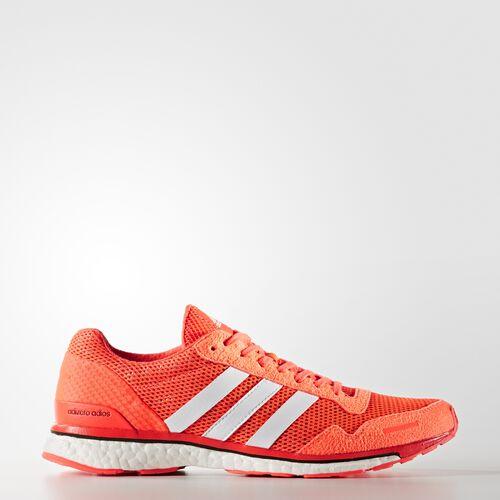 adidas - adizero Adios 3 Shoes Solar Red  /  Running White Ftw  /  Core Black AQ2429