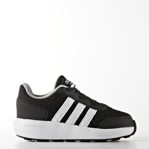 adidas - Cloudfoam Race Shoes Core Black  /  Running White  /  Light Onix AW5368