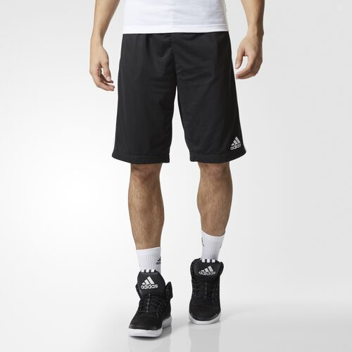 adidas - Triple Up Shorts Black  /  White AP0416