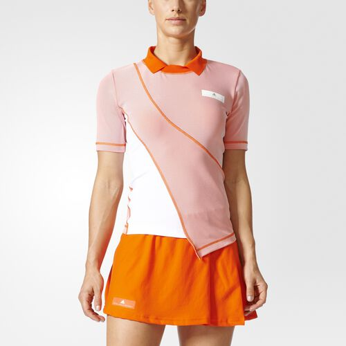 adidas - Barricade Tee Radiant Orange  /  White BQ8483
