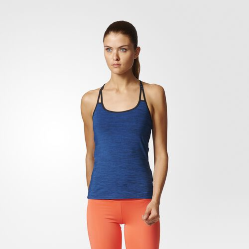 adidas - Strappy Tank Top Blue BK2666