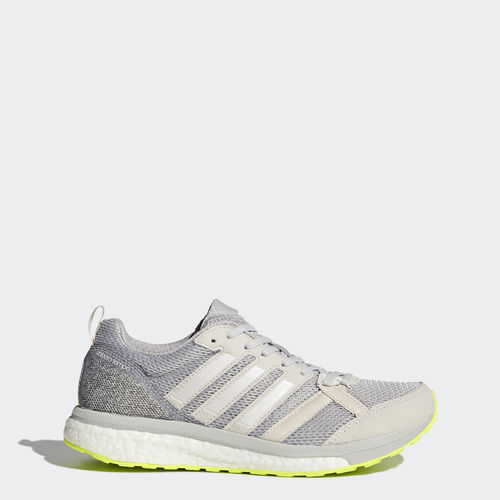 adidas - adizero Tempo 9 Shoes Grey  /  Running White  /  Grey BA8240